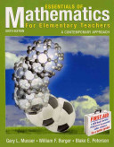 Essentials of Mathematics for Elementary Teachers