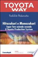 Hitozukuri e Monozukuri  Saper fare azienda secondo il Toyota Production System