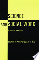 Science and Social Work