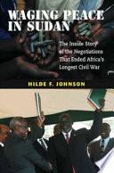 Book Waging Peace in Sudan