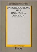 Un introduzione alla linguistica applicata