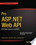 Pro ASP NET Web API