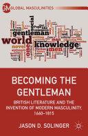 Becoming the Gentleman Book