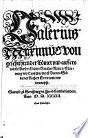 Von geschichten der Römer vnd aussers volcks, Perser, Medier, Griechen ... durch Petrum Selbet ... new verteutscht