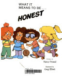 What it Means to Be   Honest Book PDF