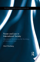 Power and Law in International Society