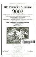 The Old Farmer s Almanac 2002