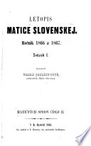 Letopis Matice slovenskej