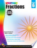 Fractions Workbook  Grade 6