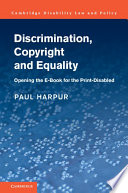 Discrimination, Copyright and Equality