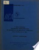 I Mesa Redonda Programa Interamericano de Desarrollo de Bibliotecas Agr  colas  Documentos y recomendacione
