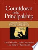 Countdown To The Principalship