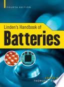 Linden s Handbook of Batteries  4th Edition