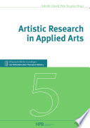 Artistic Research in Applied Arts