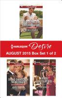 Harlequin Desire August 2015 - Box Set 1 of 2 Book