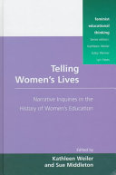 Ebook Telling Women's Lives Epub Kathleen Weiler,Sue Middleton Apps Read Mobile