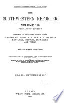 The South Western Reporter Book PDF