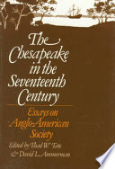 The Chesapeake in the Seventeenth Century