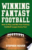 Winning Fantasy Football book