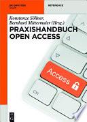 Praxishandbuch Open Access