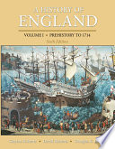 A History Of England Volume 1