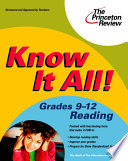 Know It All  Grades 9 12 Reading