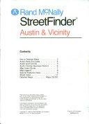 Rand McNally streetfinder Austin & vicinity