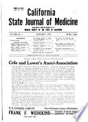 California State Journal of Medicine