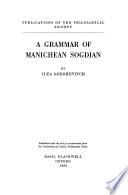 A Grammar of Manichean Sogdian