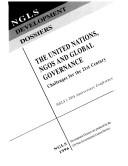 download ebook united nations, ngos and global governance pdf epub