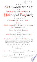 the-parliamentary-or-constitutional-history-of-england