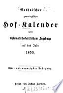 Gothaischer genealogischer Hofkalender nebst diplomatisch-statistischem Jahrbuch