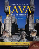 Introduction to Java Programming, AP Version