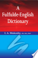 A Fulfulde English Dictionary