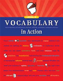 Vocabulary in Action Level H: Word Meaning, Pronunciation, Prefixes, Suffixes, Synonyms, Antonyms, and Fun!