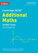 Cambridge IGCSE® Additional Maths