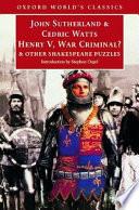 Henry V  War Criminal