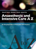 Anaesthesia and Intensive Care A Z