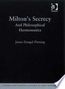 Milton s Secrecy