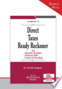Direct Tax Law and Practice (2021-22)