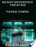 download ebook ready reference treatise: paper towns pdf epub