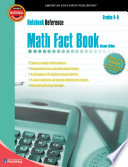 Math Fact Book  Grades 4   8