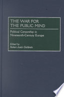 The War for the Public Mind