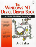 The Windows Nt Device Driver Book