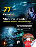 71 ELECTRICAL   ELECTRONIC PORJECTS  with CD