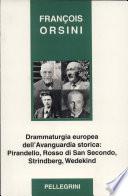 Drammaturgia europea dell avanguardia storica