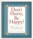 Don t Hurry  be Happy