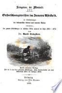 Livingstone, der Missionär