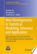 New Developments In Statistical Modeling Inference And Application book