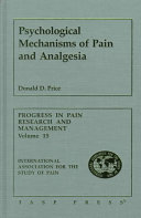 Psychological Mechanisms of Pain and Analgesia